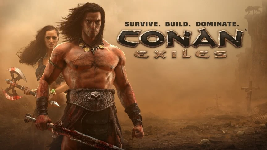 Connan Exiles Game Server banner